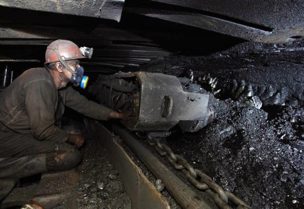 Novovolynsk miner