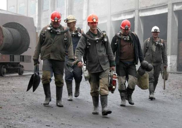 Kryviy Rih miners